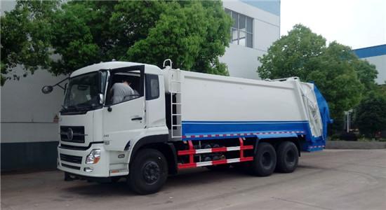 东风天龙压缩式垃圾车(16-22方)