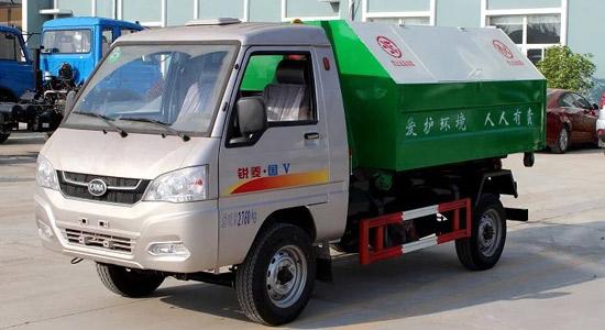 凯马国五勾臂式垃圾车(2.5方)