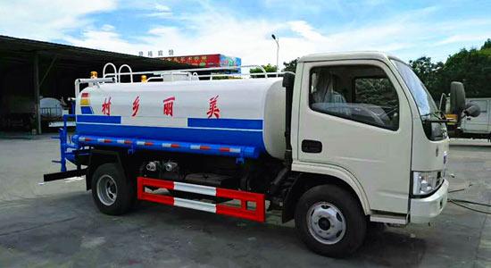 东风福瑞卡5吨(方)洒水车