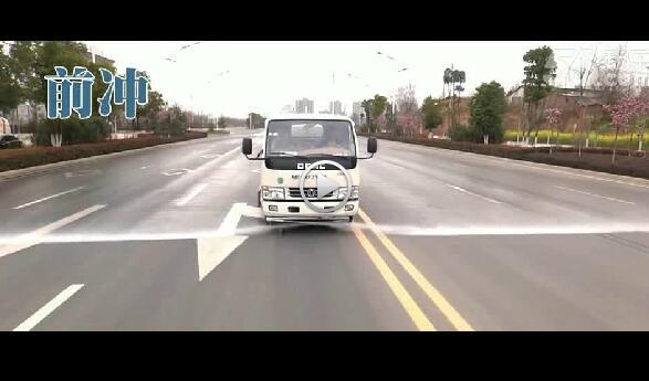 5吨(方)洒水车视频