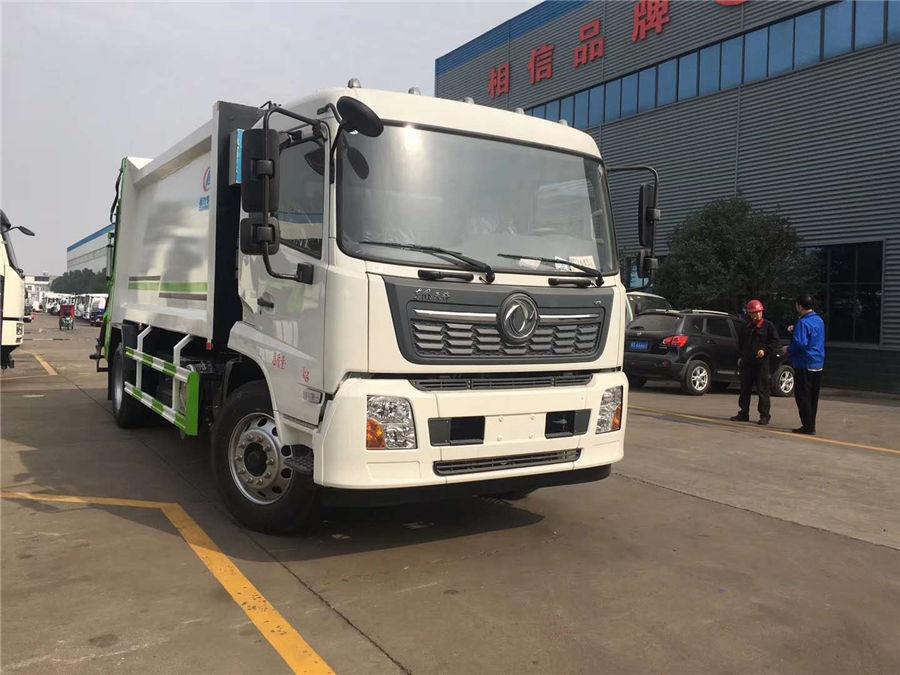 乐投app官方下载安装东风天锦后装压缩式垃圾车