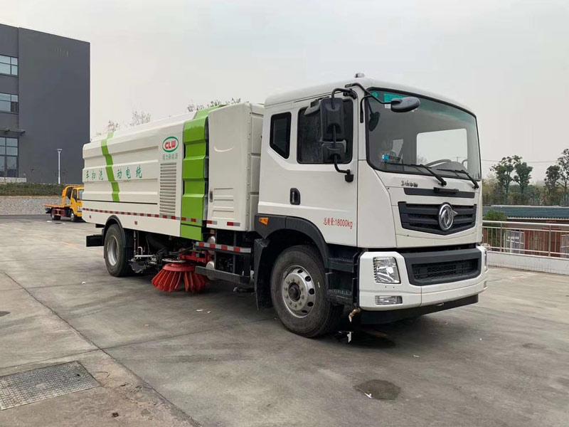 新能源纯电动18吨洗扫车