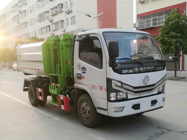 东风小多利卡5方挂桶式垃圾车