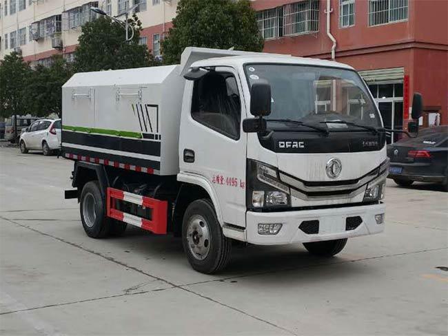 乐投app官方下载安装东风小多利卡厢式垃圾车