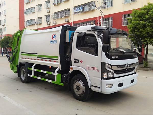 乐投app官方下载安装东风凯普特K7压缩式垃圾车