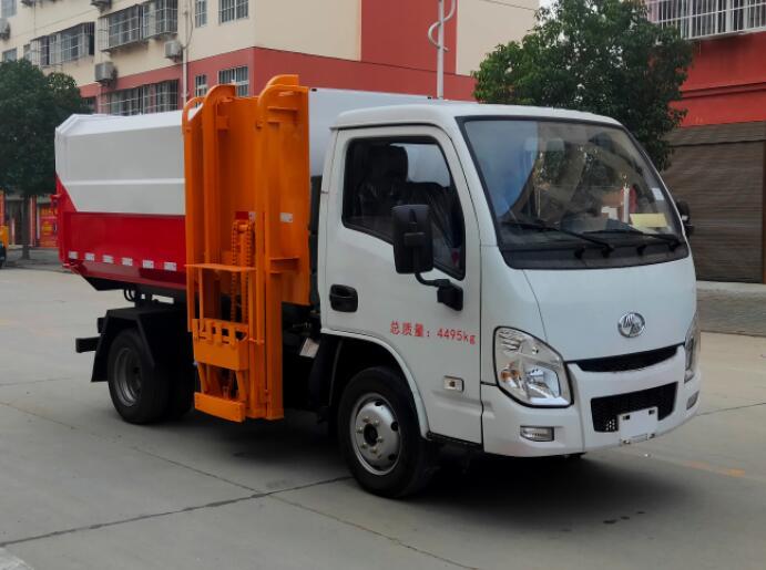 程力威牌CLW5047ZZZSH6型自装卸式垃圾车