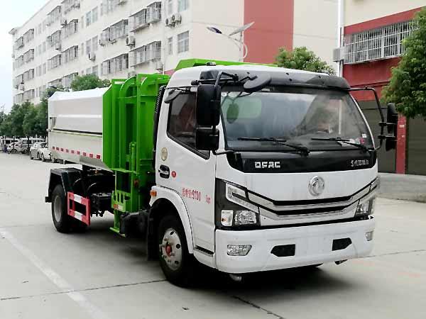 程力威牌CLW5090ZZZ6型自装卸式垃圾车
