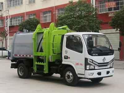 程力威牌CLW5071ZZZ6型自装卸式垃圾车