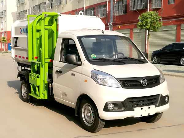 程力威牌CLW5030ZZZB6型自装卸式垃圾车