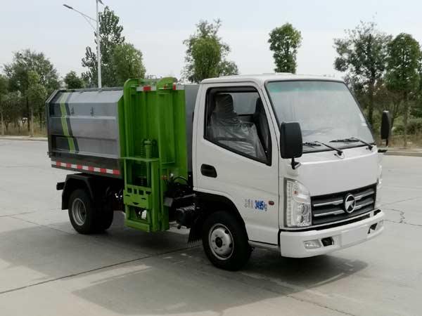 程力威牌CLW5030ZZZK6型自装卸式垃圾车