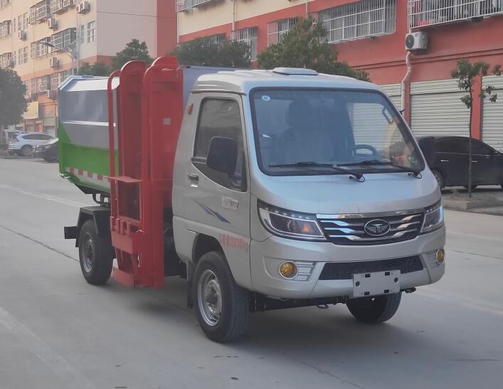 程力威牌CLW5023ZZZZB6型自装卸式垃圾车
