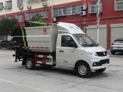 程力威牌CLW5036ZZZB6型自装卸式垃圾车
